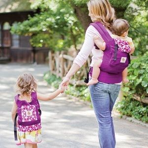 mommy & me Ergobaby Mystic Purple baby carrier